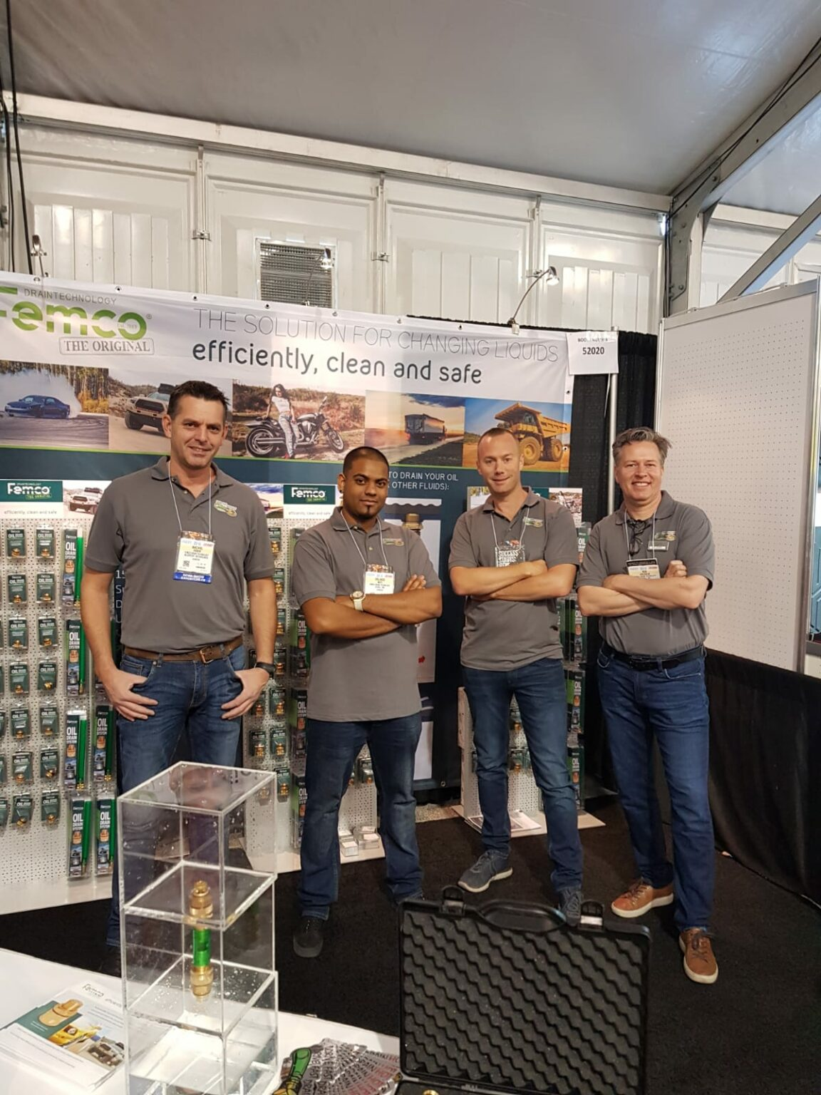image of femco staff at ICUEE