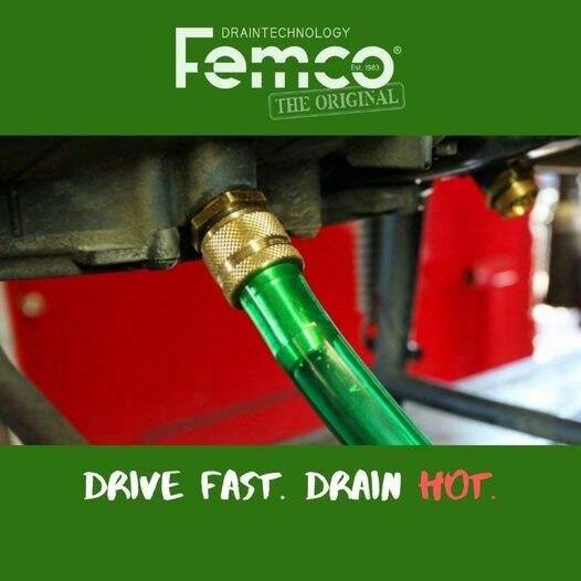 How to drain oil Femco