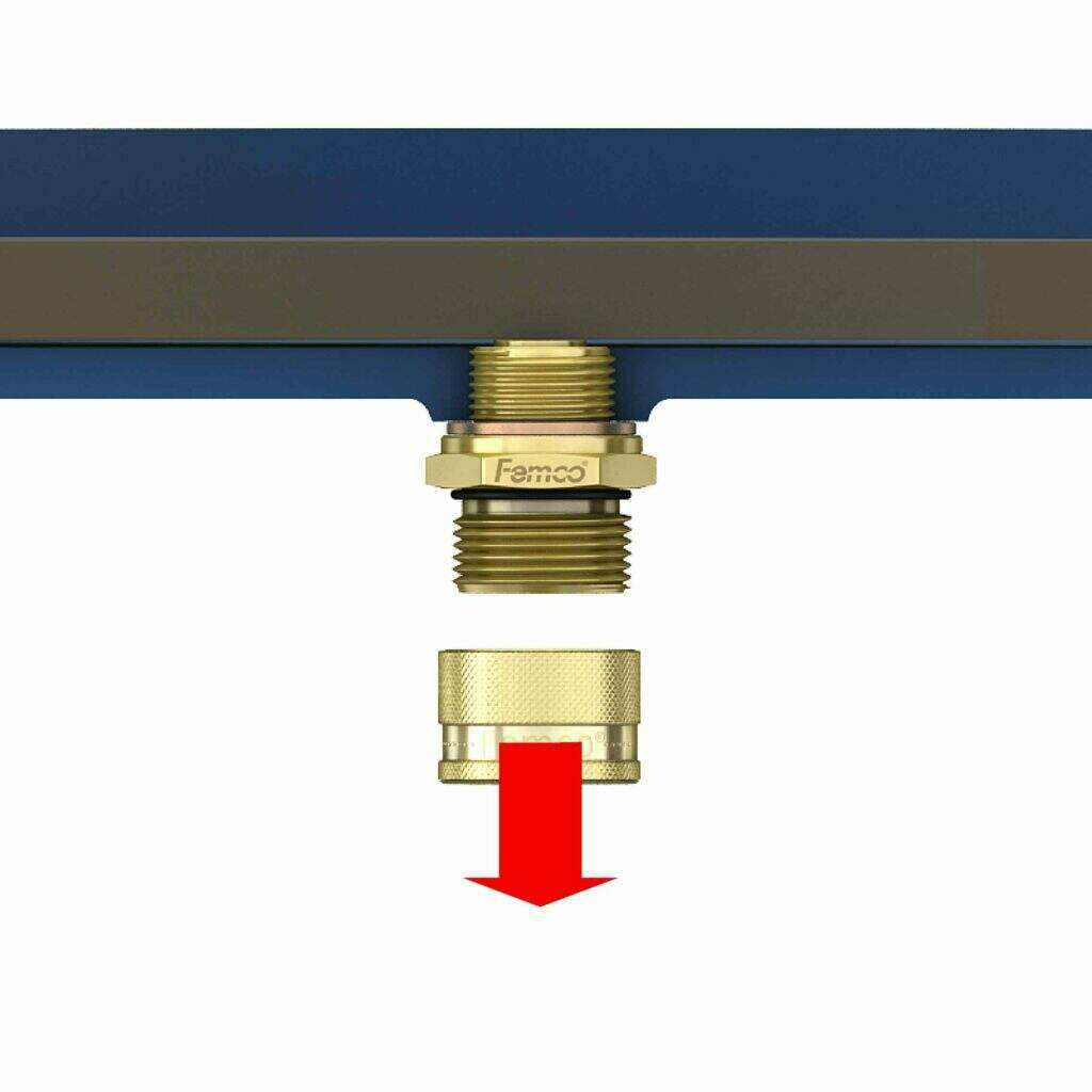 oil drain valve step 1