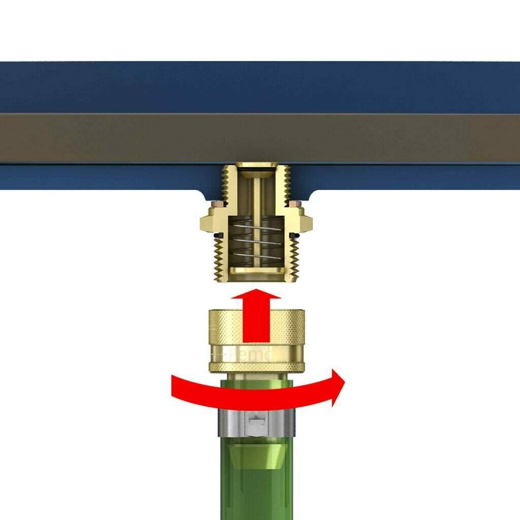 oil drain valve step 2