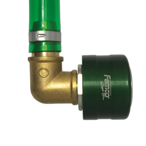 """Double click drainer angled 90° hose 10"""" 840005"""