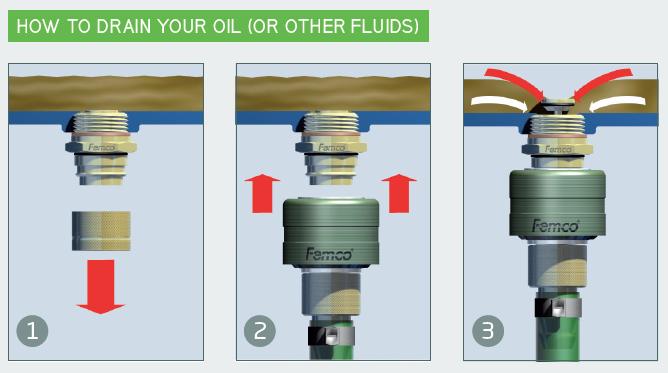 Click Drain oil plug
